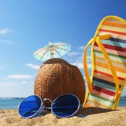 beach holiday banner