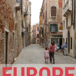 Travelling Europe with Kids