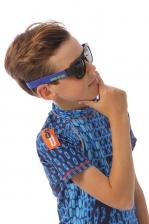 Electric Blue Sunglasses