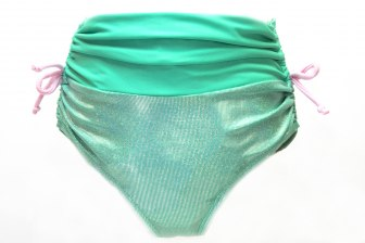 Girl's Sparkling Bikini Bottoms
