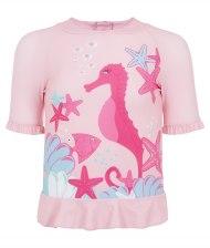 Girl's Rash Vest - Bling Bling Starfish